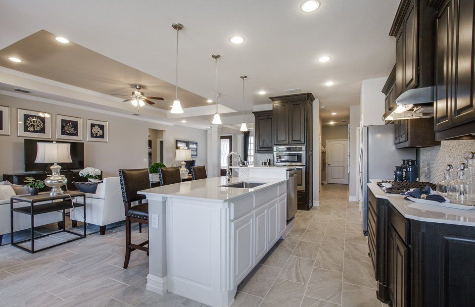 Kitchen featured in the Napa Valley By Del Webb in Houston, TX