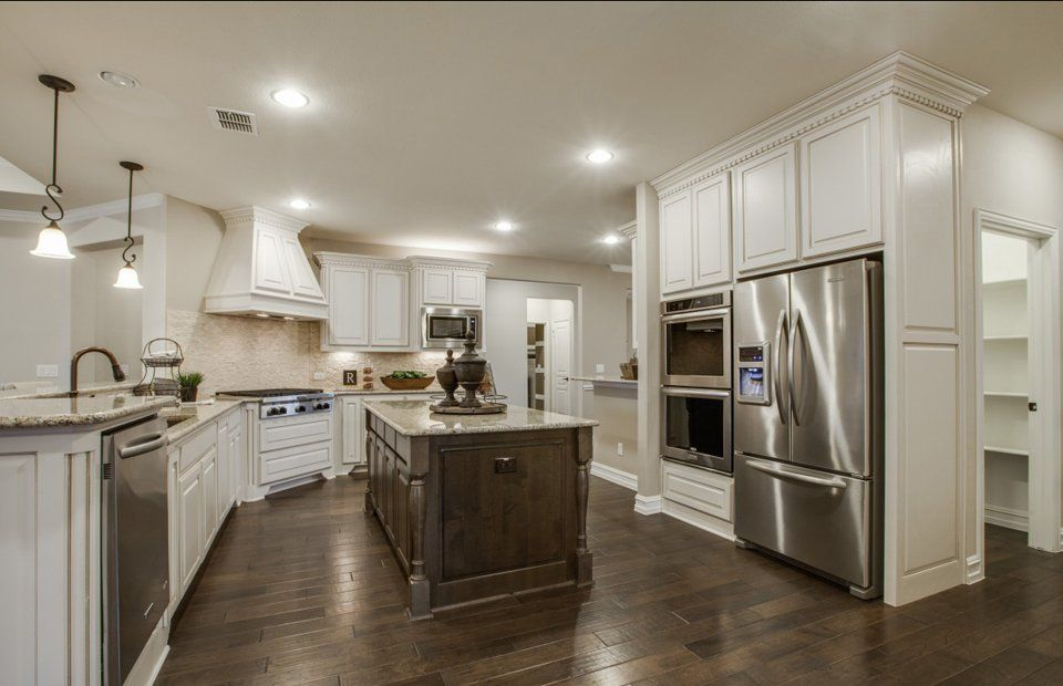 Kitchen-in-Sonoma Cove-at-Sun City Texas-in-Georgetown