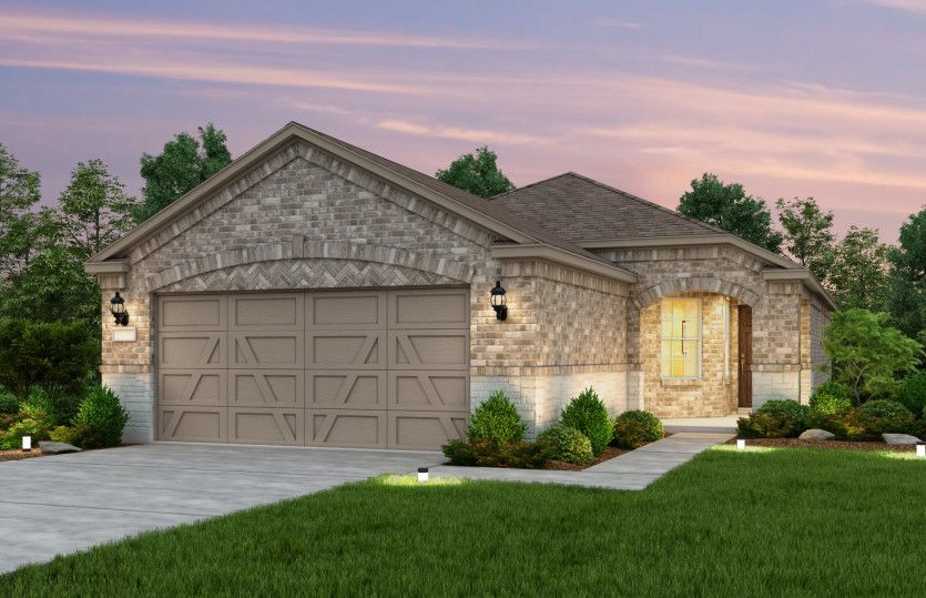 Exterior featured in the Noir Coast By Del Webb in Dallas, TX