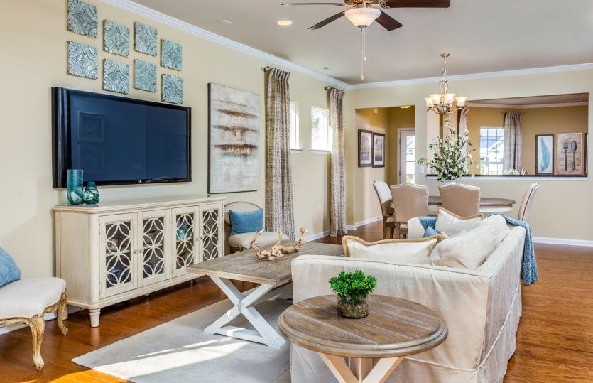 Living Area featured in the Noir Coast By Del Webb in Dallas, TX
