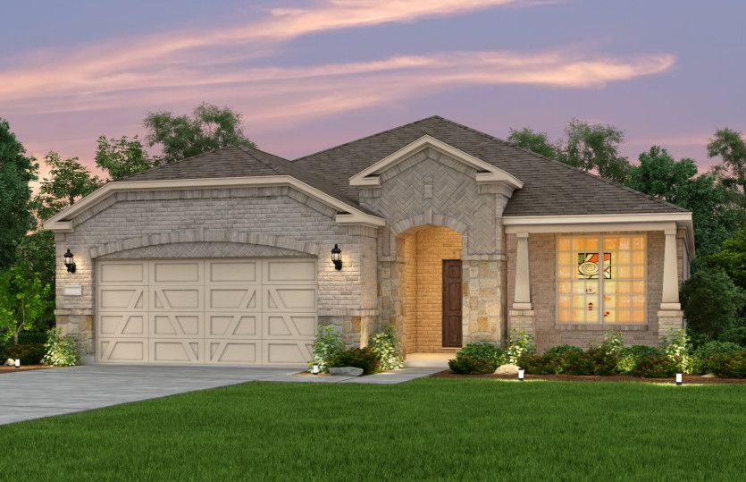 Exterior featured in the Martin Ray By Del Webb in Dallas, TX