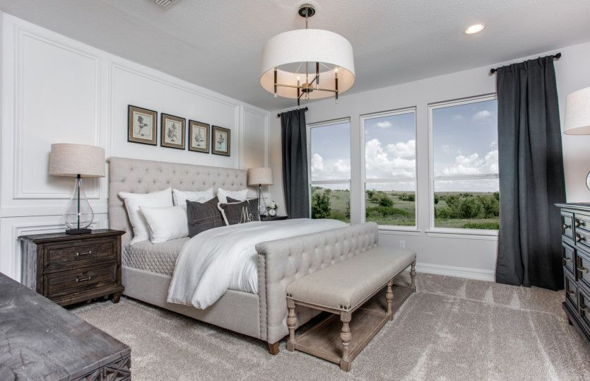 Bedroom featured in the Martin Ray By Del Webb in Dallas, TX