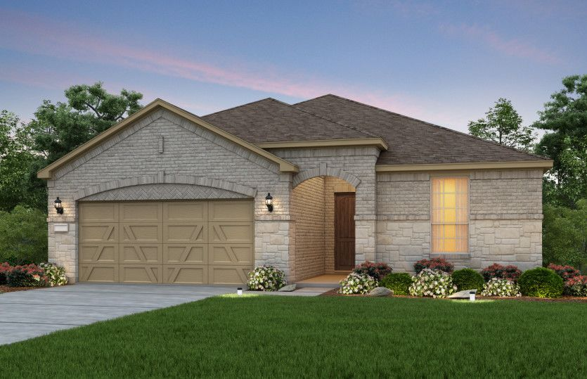 Exterior featured in the Summerwood By Del Webb in Dallas, TX