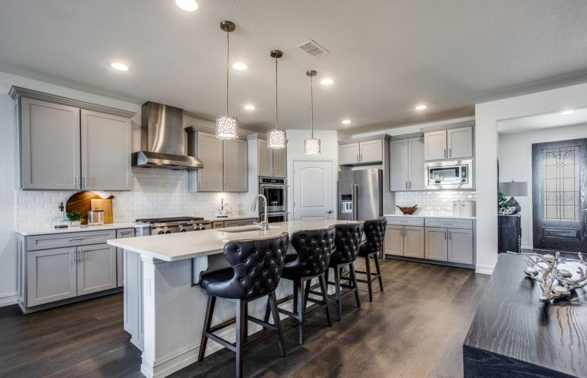 Kitchen featured in the Magnolia By Del Webb in Dallas, TX