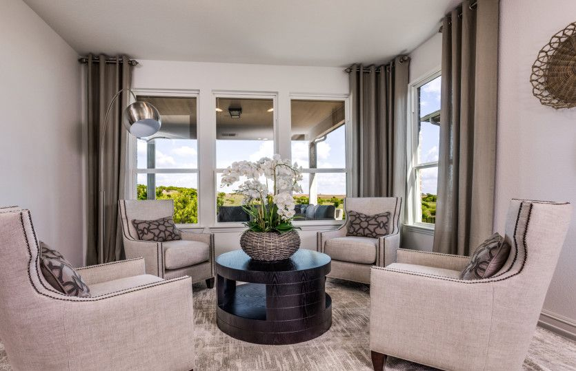Living Area featured in the Magnolia By Del Webb in Dallas, TX