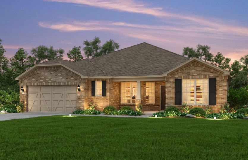 Exterior featured in the Sonoma Cove By Del Webb in Dallas, TX
