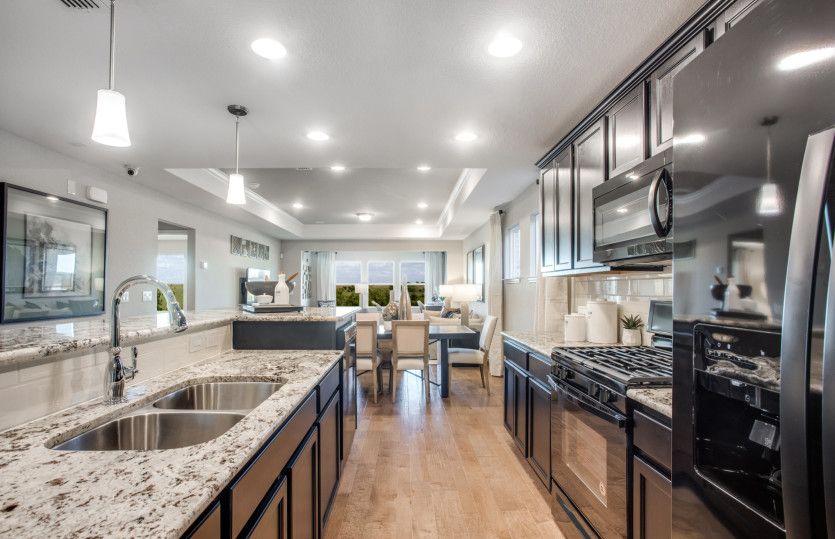 Kitchen featured in the Steel Creek By Del Webb in Dallas, TX
