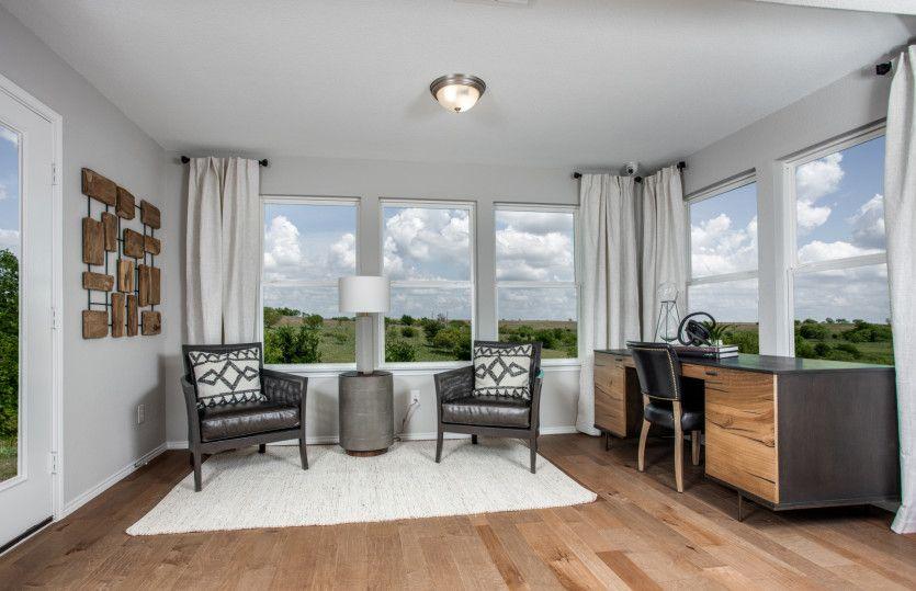 Living Area featured in the Steel Creek By Del Webb in Dallas, TX