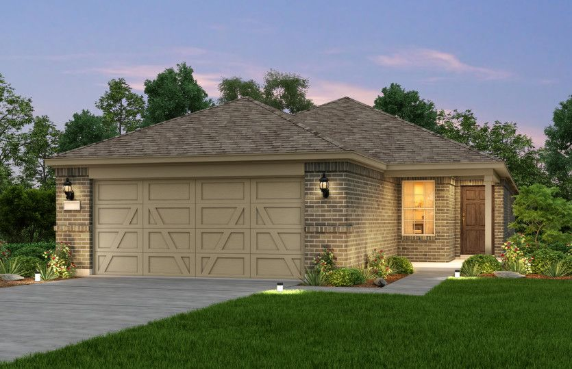 Exterior featured in the Taft Street By Del Webb in Dallas, TX