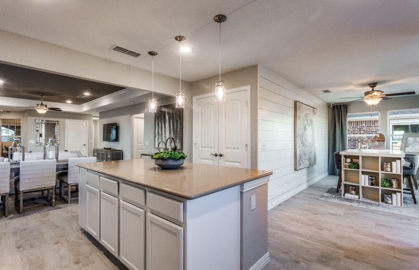 Kitchen featured in the Taft Street By Del Webb in Dallas, TX