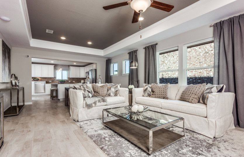 Living Area featured in the Taft Street By Del Webb in Dallas, TX