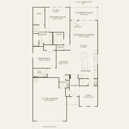 Martin Ray Plan at Del Webb at Union Park in Aubrey, TX by