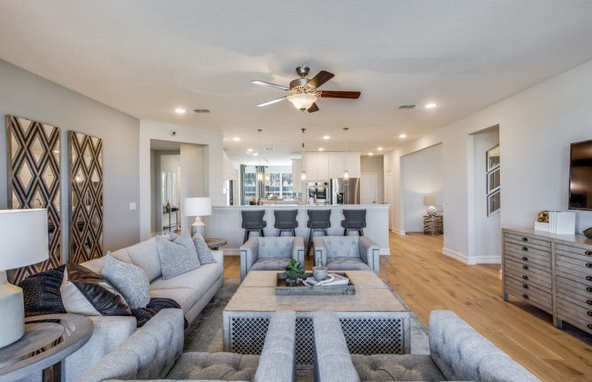 Living Area featured in the Sonoma Cove By Del Webb in Dallas, TX