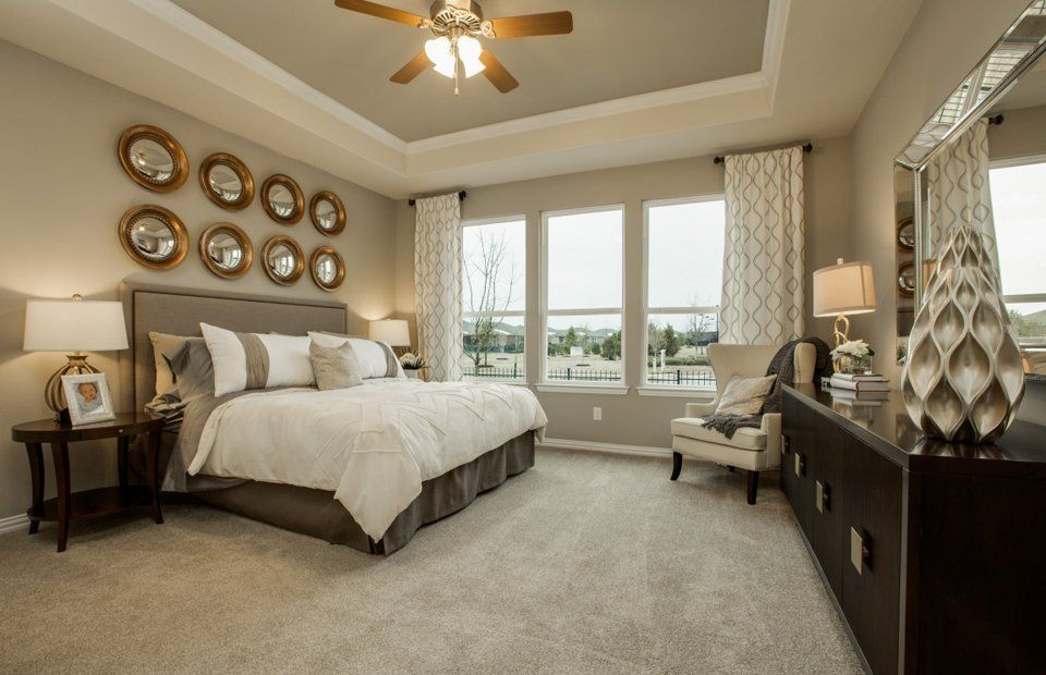 Bedroom featured in the Martin Ray By Del Webb in Houston, TX