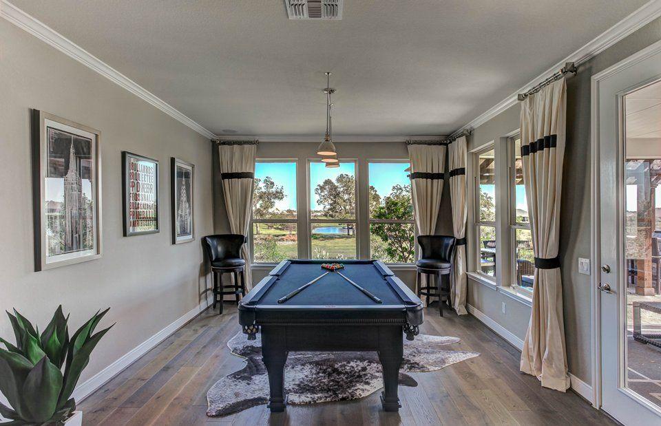 Living Area featured in the Tangerly Oak By Del Webb in Houston, TX