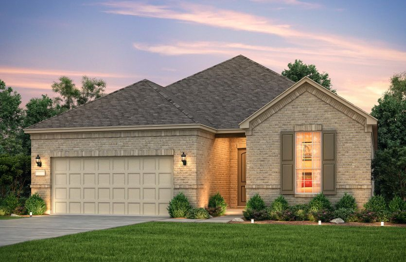Exterior featured in the Summerwood By Del Webb in Houston, TX