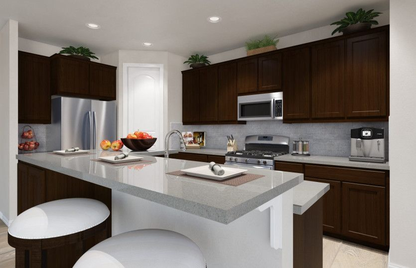 Kitchen-in-Summerwood-at-Hill Country Retreat-in-San Antonio