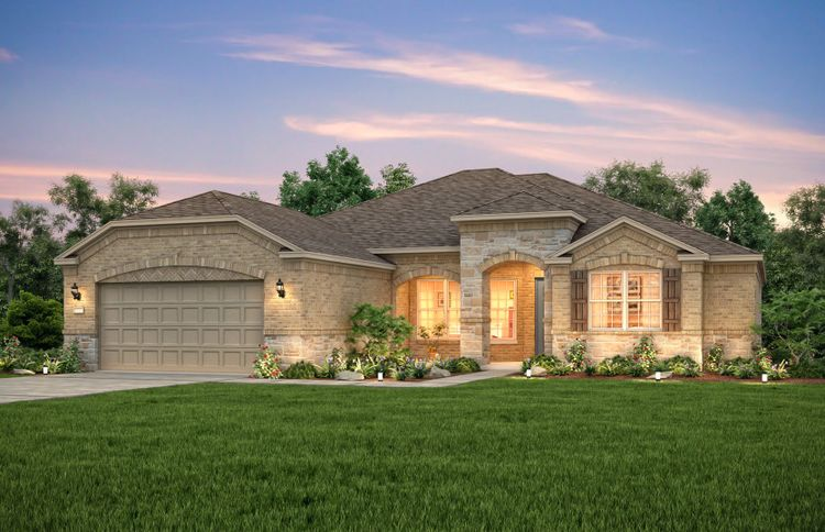 Exterior featured in the Napa Valley By Del Webb in San Antonio, TX