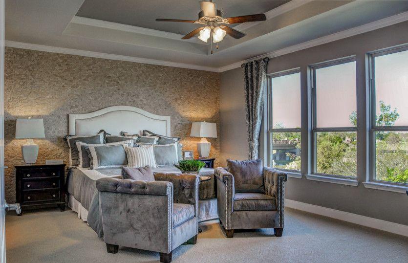 Bedroom-in-Magnolia-at-Hill Country Retreat-in-San Antonio