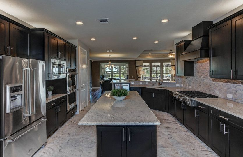 Kitchen-in-Tangerly Oak-at-Hill Country Retreat-in-San Antonio