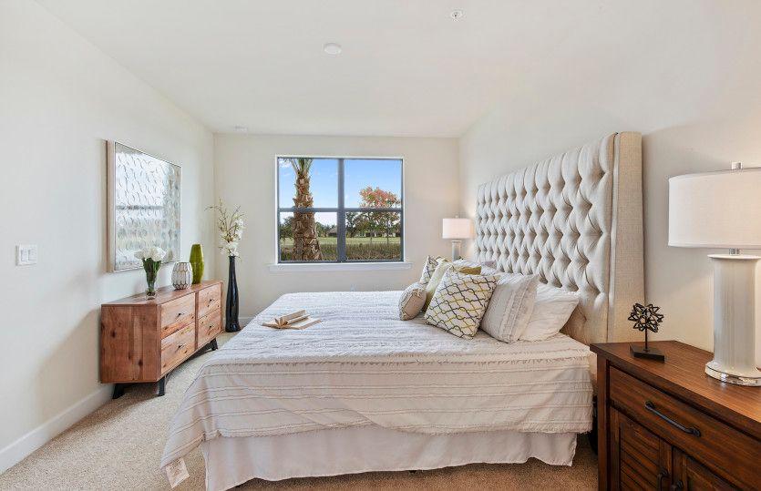 Bedroom featured in the Heron By Del Webb in Naples, FL