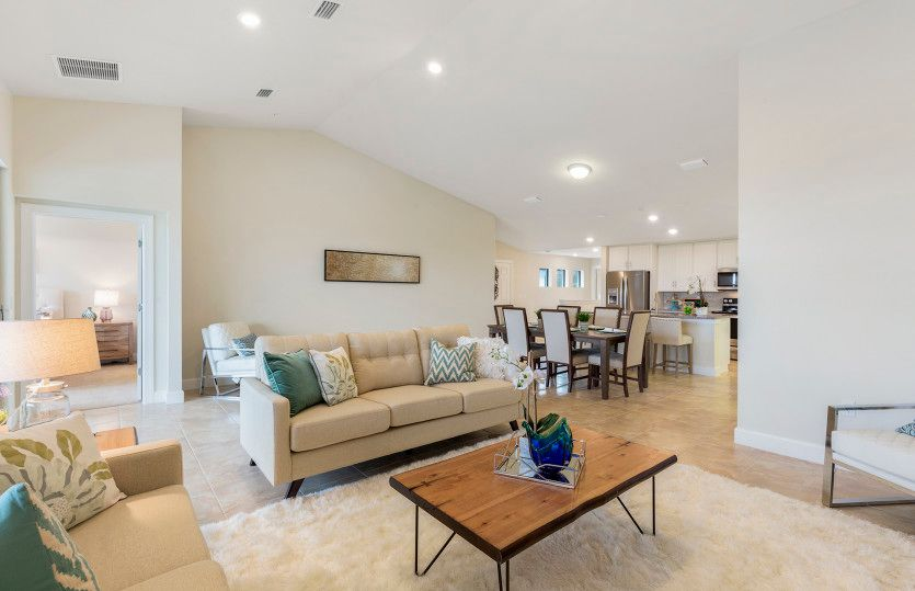 Living Area featured in the Cormorant By Del Webb in Naples, FL