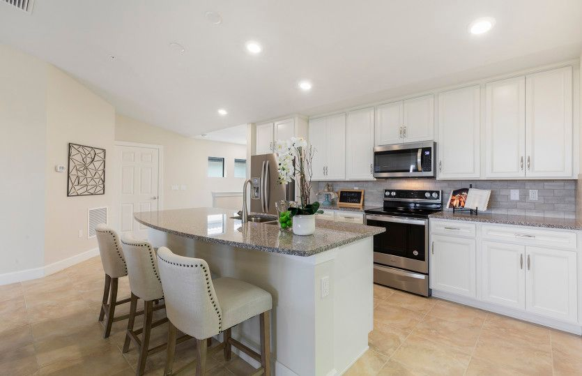 Kitchen featured in the Cormorant By Del Webb in Naples, FL