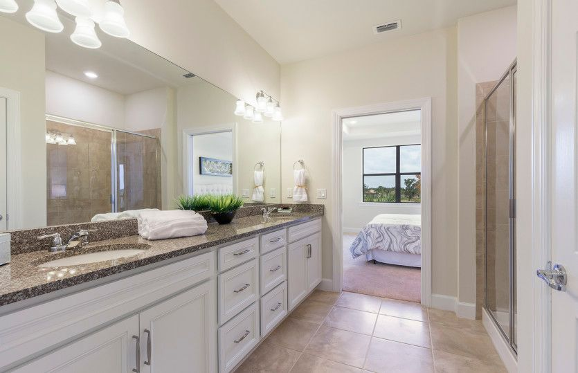 Bathroom featured in the Cormorant By Del Webb in Naples, FL