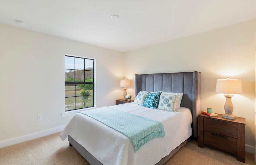 Bedroom featured in the Cormorant By Del Webb in Naples, FL