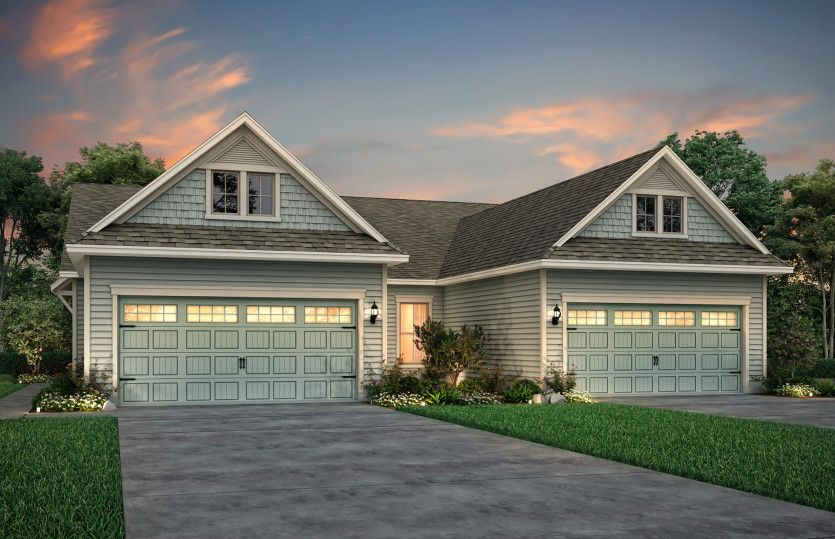 Exterior featured in the Serenity By Del Webb in Myrtle Beach, SC