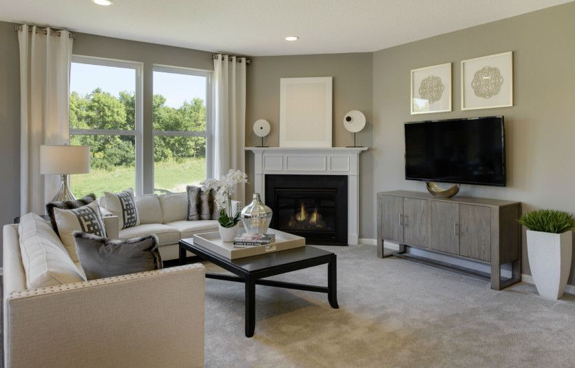 Living Area featured in the Abbeyville By Del Webb in Minneapolis-St. Paul, MN