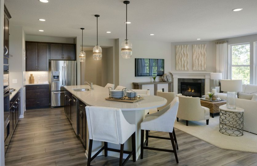 Kitchen featured in the Ascend with Basement By Del Webb in Minneapolis-St. Paul, MN