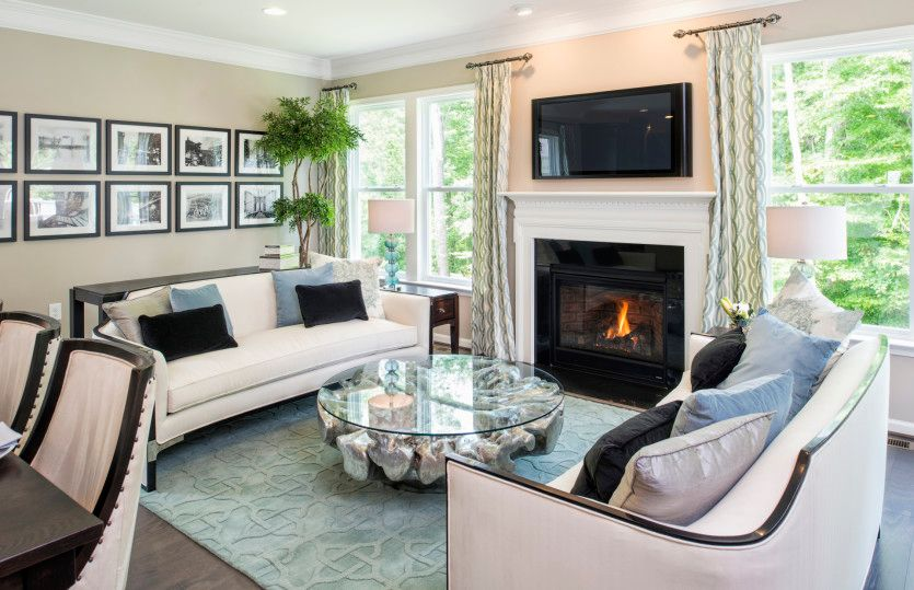 Living Area featured in the Blue Rock By Del Webb in Minneapolis-St. Paul, MN