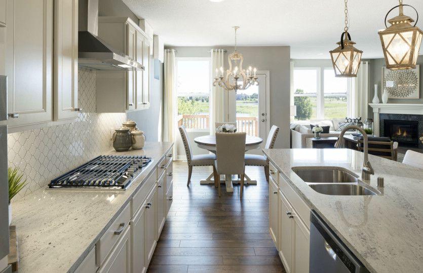 Kitchen featured in the Castlerock with Basement By Del Webb in Minneapolis-St. Paul, MN