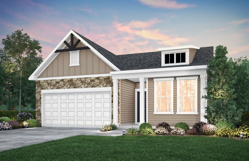 Exterior featured in the Blue Rock By Del Webb in Minneapolis-St. Paul, MN