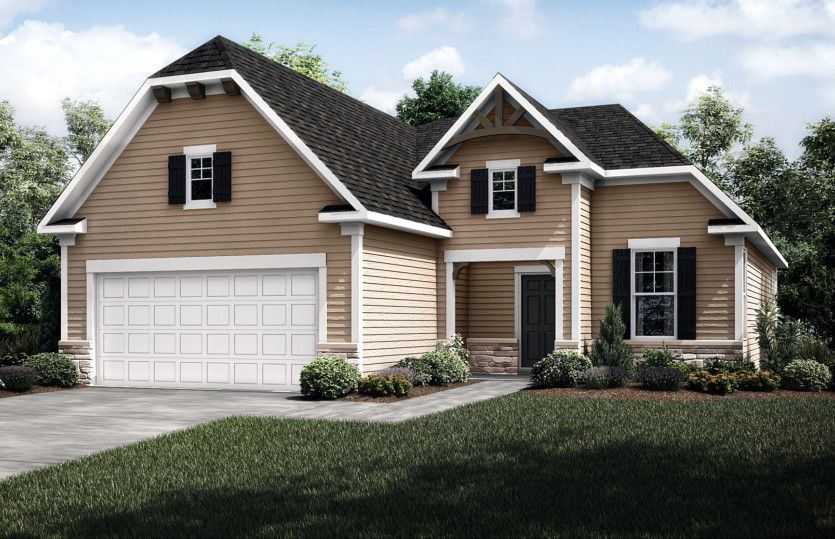 Exterior featured in the Castlerock with Basement By Del Webb in Minneapolis-St. Paul, MN