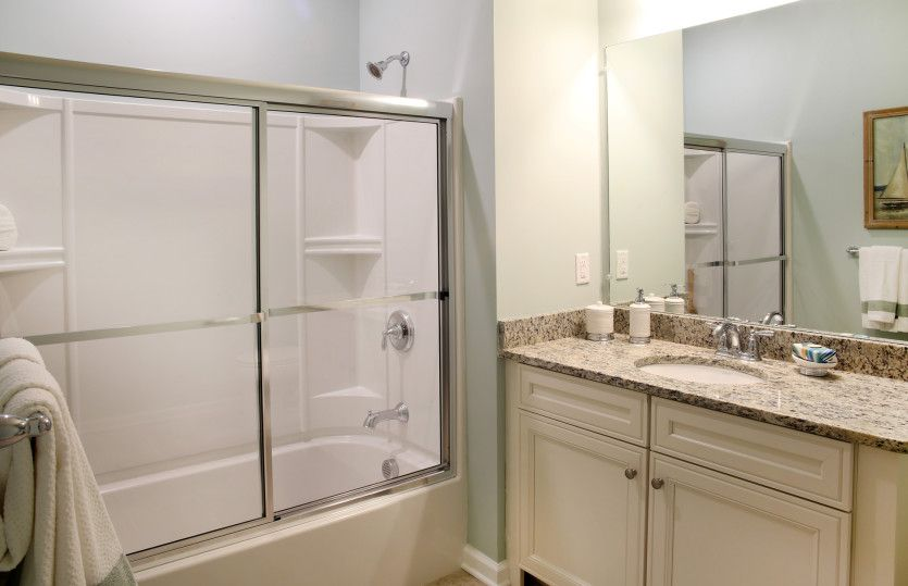 Bathroom featured in the Chandler By Del Webb in Worcester, MA