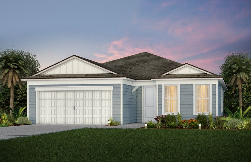 Exterior featured in the Mystique By Del Webb in Jacksonville-St. Augustine, FL