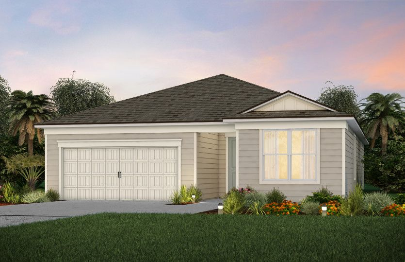 Exterior featured in the Palmary By Del Webb in Jacksonville-St. Augustine, FL
