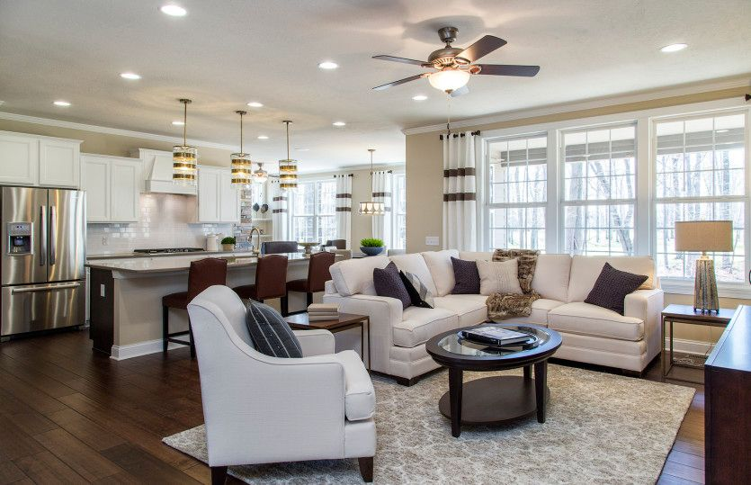 Living Area featured in the Napa Valley By Del Webb in Indianapolis, IN