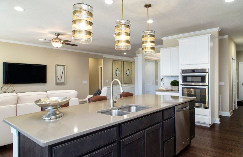 Kitchen featured in the Napa Valley By Del Webb in Indianapolis, IN
