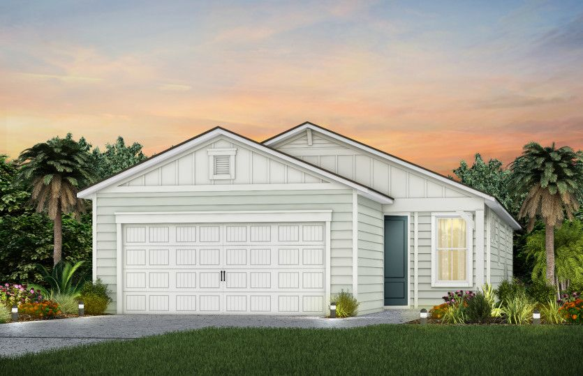Exterior featured in the Contour By Del Webb in Jacksonville-St. Augustine, FL