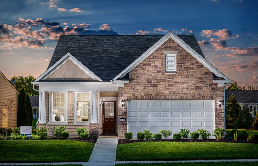 Exterior featured in the Blue Rock By Del Webb in Indianapolis, IN