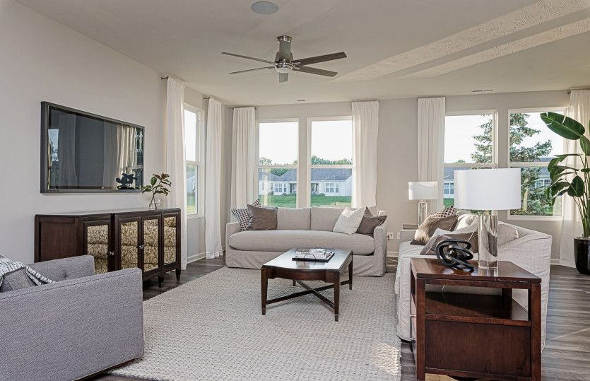 Living Area featured in the Blue Rock By Del Webb in Indianapolis, IN