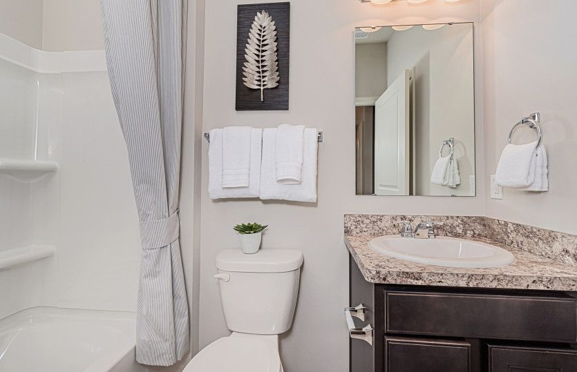 Bathroom featured in the Blue Rock By Del Webb in Indianapolis, IN
