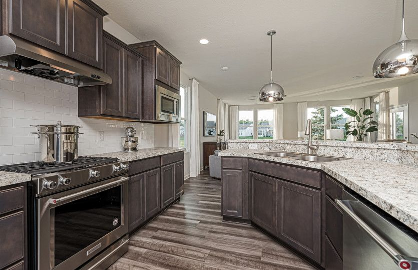 Kitchen featured in the Blue Rock By Del Webb in Indianapolis, IN