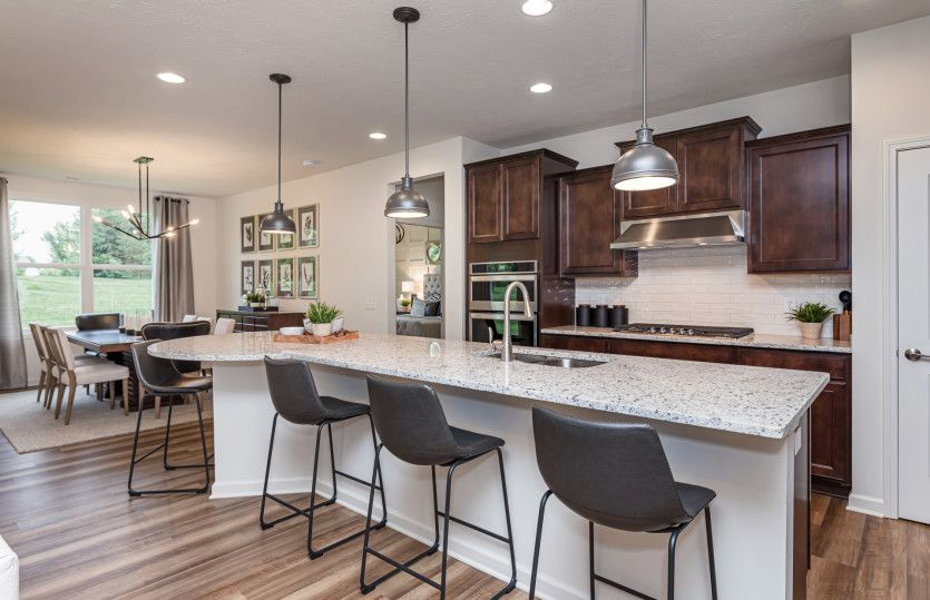 Kitchen featured in the Ascend By Del Webb in Indianapolis, IN