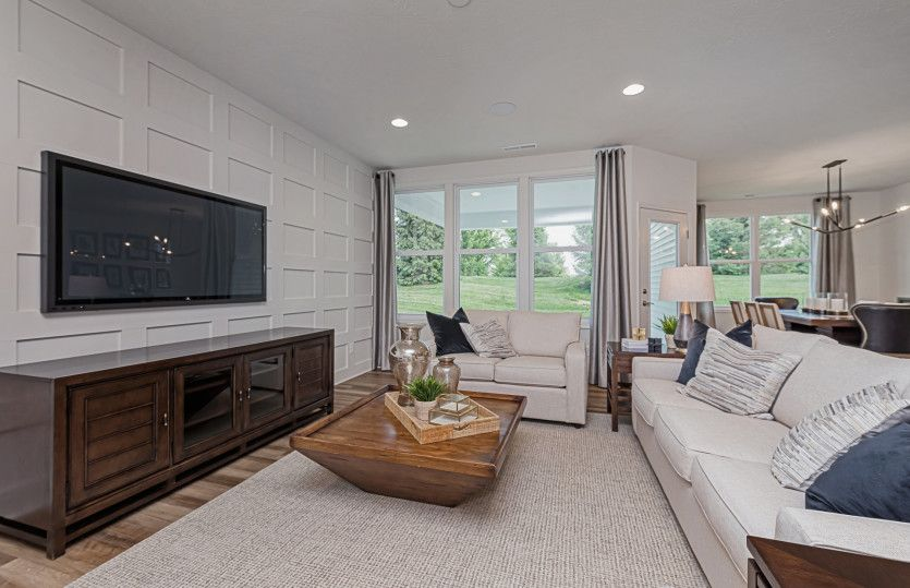 Living Area featured in the Ascend By Del Webb in Indianapolis, IN