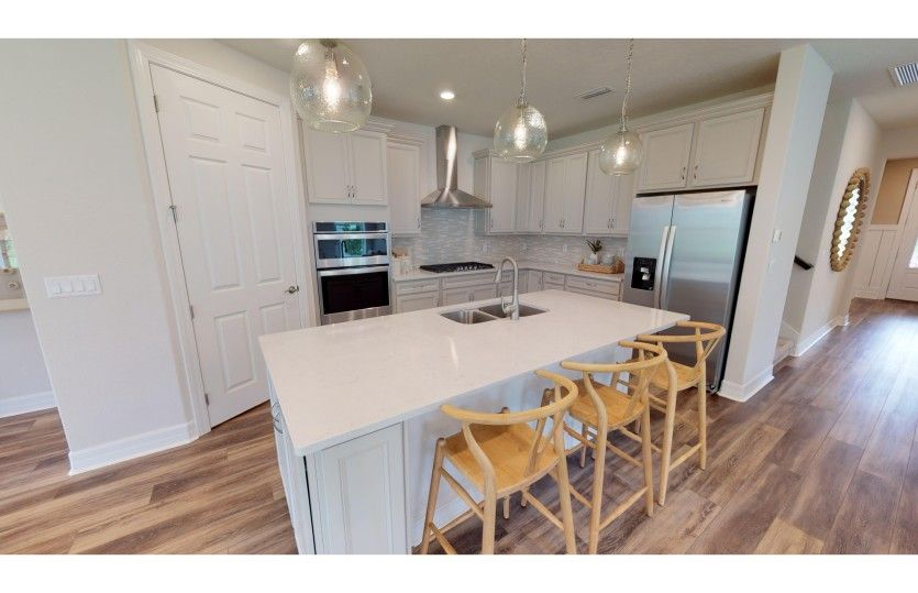 Kitchen featured in the Mystique Grand By Del Webb in Jacksonville-St. Augustine, FL