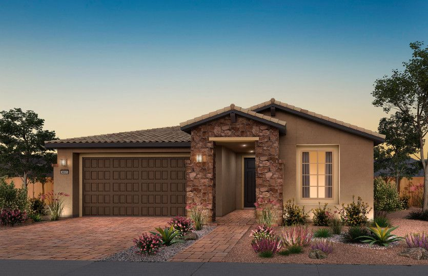 Exterior featured in the Brownstone By Del Webb in Las Vegas, NV
